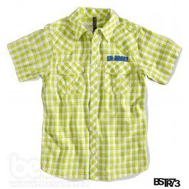 Chlapecká košile s krátkým rukávem BOYSTAR světle zelená Velikost: 176