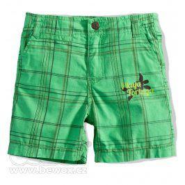 Chlapecké šortky BOYSTAR KOSTKA zelené Velikost: 116