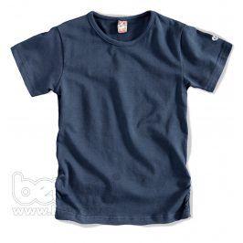 GIRLSTAR Dívčí jednobarevné tričko tmavě modré Velikost: 92-98