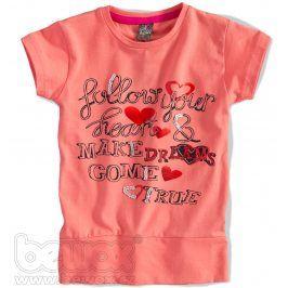 GIRLSTAR Dívčí tričko s krátkým rukávem Velikost: 92-98