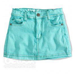 Dívčí riflová sukně GIRLSTAR tyrkysová Velikost: 92-98