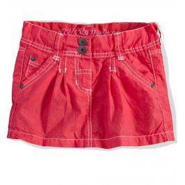 Dívčí sukně PEBBLESTONE NY CITY červená Velikost: 92-98