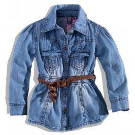 PEBBLESTONE Dívčí džínová košile Velikost: 104