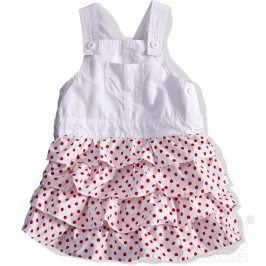 DIRKJE Dívčí sukně s laclem. Velikost: 74