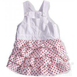 DIRKJE Dívčí sukně s laclem. Velikost: 80