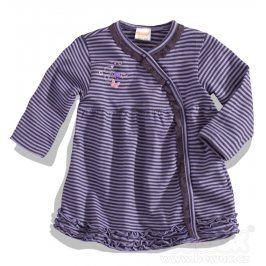 Dívčí šaty s dlouhým rukávem DIRKJE fialové Velikost: 80