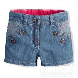 Kojenecké dívčí riflové šortky DIRKJE Velikost: 62