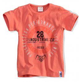 Dětské tričko DIRKJE INDUSTRIAL oranžové Velikost: 62