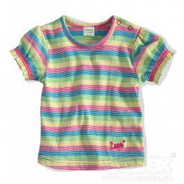 Kojenecké tričko PEBBLESTONE PROUŽKY modré Velikost: 68