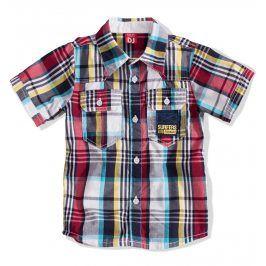 DIRKJE Chlapecká košile s krátkým rukávem Velikost: 104