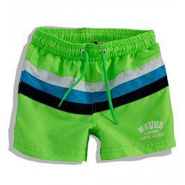 PEBBLESTONE Chlapecké plavky PRUHY zelené Velikost: 110