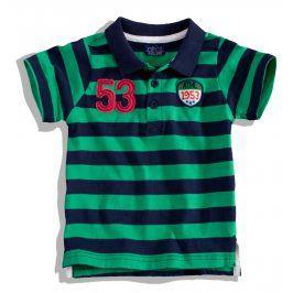 Chlapecké tričko s límečkem Minoti BITE Velikost: 80-86