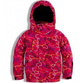 Dívčí zimní lyžařská bunda Knot So Bad SKI červená Velikost: 164