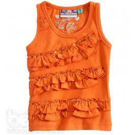 KNOT SO BAD Dívčí tričko bez rukávů Velikost: 92