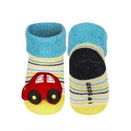 SOXO Ponožky s chrastítkem AUTÍČKO Velikost: 16-18