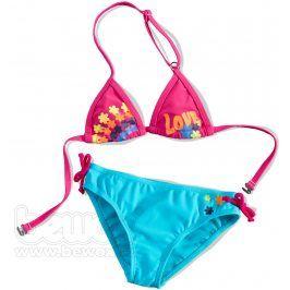 KNOT SO BAD Dívčí plavky 2dílné LOVE Velikost: 92