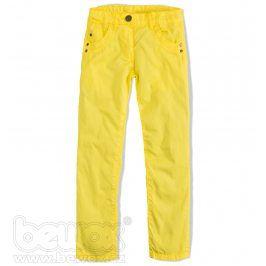 KNOT SO BAD Dívčí plátěné kalhoty Velikost: 140