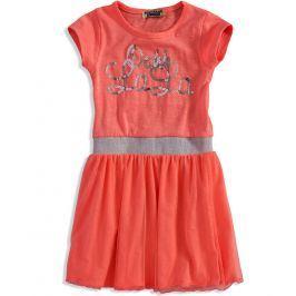 Dívčí šaty DIRKJE LALA oranžové Velikost: 98