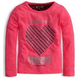 Dívčí triko DIRKJE EVERY MOMENT růžové Velikost: 98
