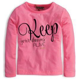 Dívčí triko DIRKJE YOUR DREAMS růžové Velikost: 98