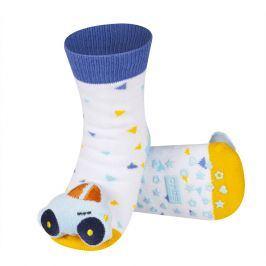 Ponožky s chrastítkem SOXO AUTO Velikost: 19-21