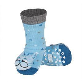 Ponožky s chrastítkem SOXO KOCOUR Velikost: 19-21