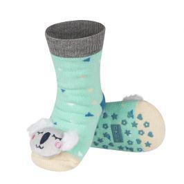 Ponožky s chrastítkem SOXO KOALA Velikost: 19-21
