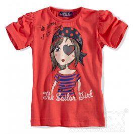 KNOT SO BAD Dívčí tričko s krátkým rukávem Velikost: 92