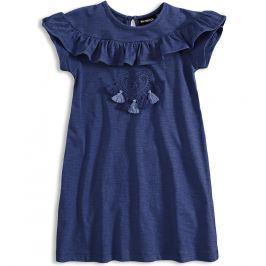 Dívčí šaty Mix´nMATCH FRINGE tmavě modré Velikost: 98