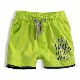Chlapecké šortky KNOT SO BAD LITTLE WAVES zelené Velikost: 62