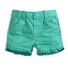 Dívčí šortky KNOT SO BAD BABY zelené Velikost: 62