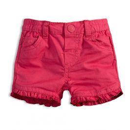 Dívčí šortky KNOT SO BAD BABY růžové Velikost: 62