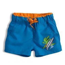 Chlapecké plavky KNOT SO BAD CROCODILE modré Velikost: 110