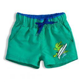 Chlapecké plavky KNOT SO BAD CROCODILE zelené Velikost: 116