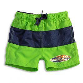 Chlapecké koupací šortky KNOT SO BAD SURF BOARD zelené Velikost: 92