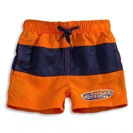 Chlapecké koupací šortky KNOT SO BAD SURF BOARD oranžové Velikost: 92