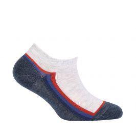 Chlapecké kotníkové ponožky WOLA PROUŽEK modré Velikost: 21-23