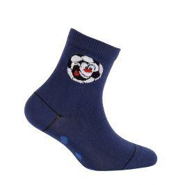 Chlapecké ponožky WOLA MÍČ tmavě modré Velikost: 21-23