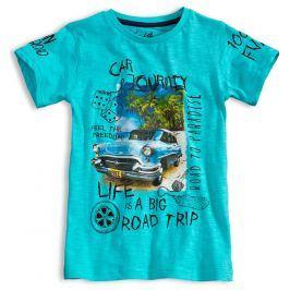 Chlapecké tričko KNOT SO BAD ROAD TRIP tyrkysové Velikost: 140