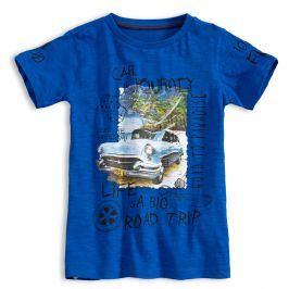 Chlapecké tričko KNOT SO BAD ROAD TRIP modré Velikost: 128