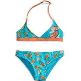 Dívčí plavky KNOT SO BAD FUNNY FRUIT oranžové Velikost: 92
