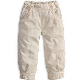 Dívčí termo kalhoty DIRKJE BELLY krémové Velikost: 80