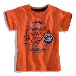 Dětské tričko krátký rukáv Knot So Bad CRUSING oranžové Velikost: 92