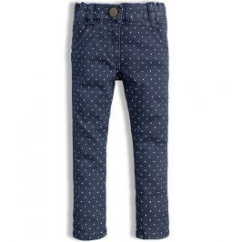 Dívčí džínové kalhoty DIRKJE QUILTED modré Velikost: 80
