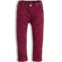 Chlapecké kalhoty MINOTI AUTO vínové Velikost: 86-92