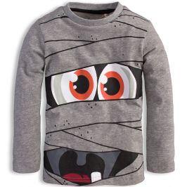 Chlapecké triko KNOT SO BAD MONSTER šedé Velikost: 92