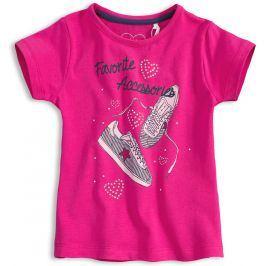 Dívčí tričko KNOT SO BAD Accessories růžové Velikost: 128