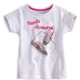 Dívčí tričko KNOT SO BAD Accessories bílé Velikost: 128