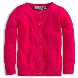 Dívčí svetr KNOT SO BAD SRDCE růžový Velikost: 92