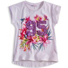 Dívčí tričko MINOTI FEVER bílé Velikost: 128-134